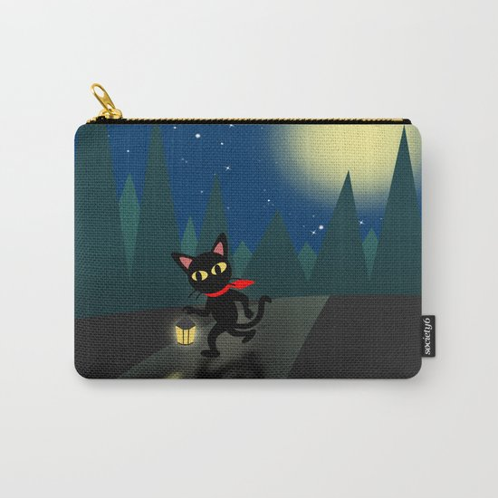 Walk in the night Carry-All Pouch