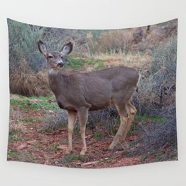 Zion Deer Wall Tapestry