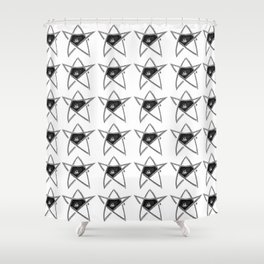 Elder Sign fanart Shower Curtain