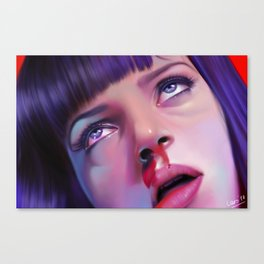 Mia Wallace - Pulp Fiction Canvas Print
