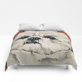 Waffles the Shih Tzu Comforters