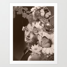 thinking of you Art Print