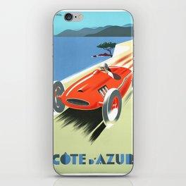 Cote d'Azur Speeder iPhone Skin