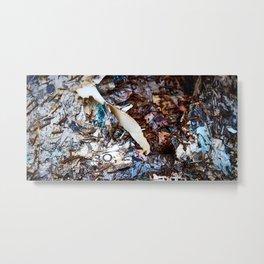 Passive Footprints Metal Print