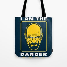 I am the Danger Tote Bag