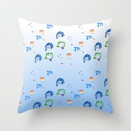inside out repeat Throw Pillow