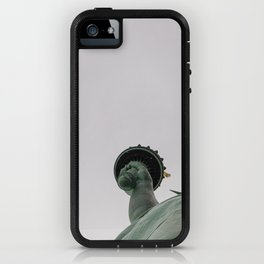 A Lady in green - NYC iPhone Case