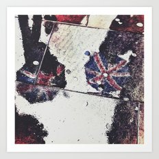 Jubilee rain  Art Print