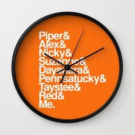 OITNB names Wall Clock