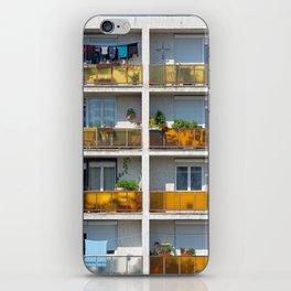 Apartment balcony iPhone Skin