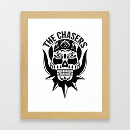 The Chasers - The Walking Dead shirt Framed Art Print