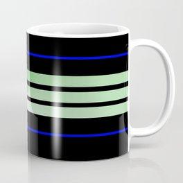 Team Colors 5...Green, blue Coffee Mug