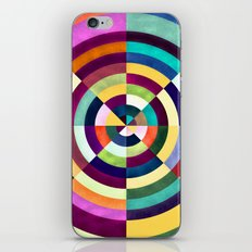 Playing Darts with Colours iPhone & iPod Skin