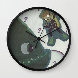 ???lunch??? Wall Clock