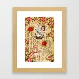 Shabby Chic Framed Art Print