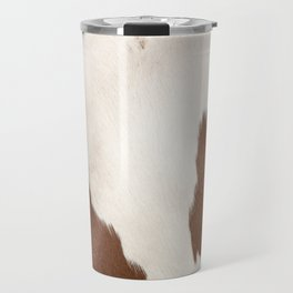 Brown Cowhide v4 Travel Mug