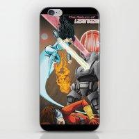 superheros iPhone & iPod Skins featuring SuperHeros SF by Timo Hanley