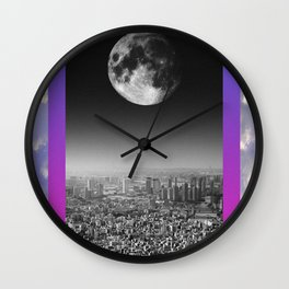 Looming Wall Clock