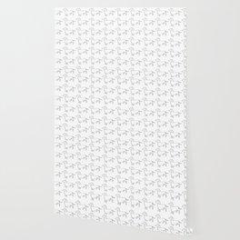 Doxie Love - White Wallpaper