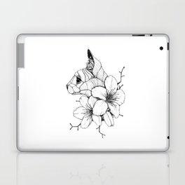 Sphynx cat & Sakura Blossoms Laptop & iPad Skin