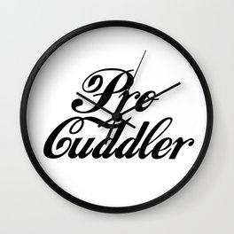 Pro Cuddler Wall Clock
