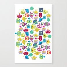 boy-bots Canvas Print