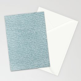 Knitted Blue Stationery Cards