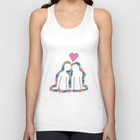 valentines Tank Tops featuring Valentines Day! by Emma's Designs
