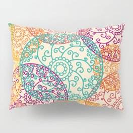 Indian pattern Pillow Sham