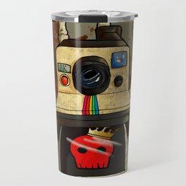 Vintage Polaroid Travel Mug