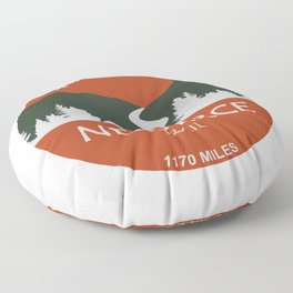 Nez Perce Trail Floor Pillow