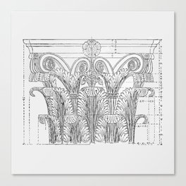 Corinthian column Canvas Print