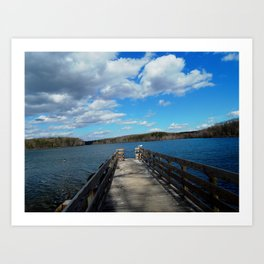 Burke Lake Virginia Art Print