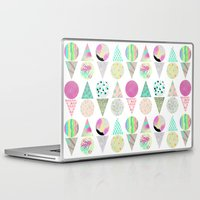 psychedelic Laptop & iPad Skins featuring Psychedelic by Catalina Montaña