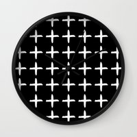 positive Wall Clocks featuring Positive by Dream Of Forest