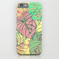 Jungle Leaves Slim Case iPhone 6s