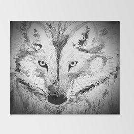 An inquisitive look  Throw Blanket