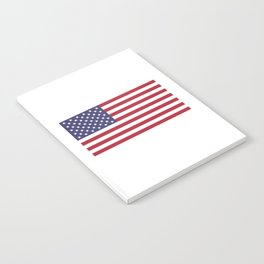 National flag of the USA - Authentic G-spec scale & colors Notebook