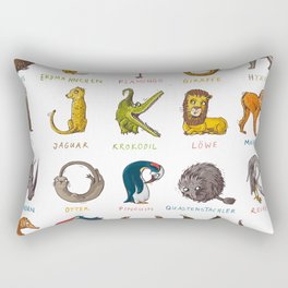 Wildlife-ABC Rectangular Pillow