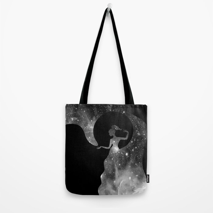 Galaxy From Within BNW Tote Bag