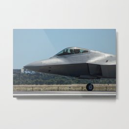 Avalon Airshow - F-22A Raptor Metal Print