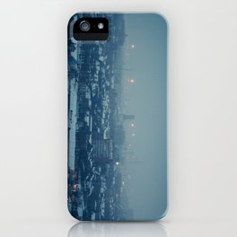 Waking Up Under the Snow iPhone Case