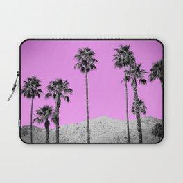 Pink Palm Trees / Desert / Palm Springs Laptop Sleeve