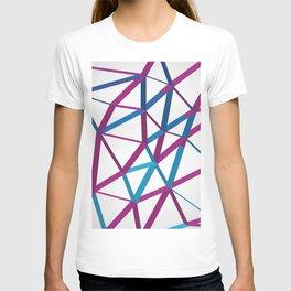 3D Futuristic GEO Lines T-shirt
