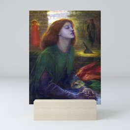 Dante Gabriel Rossetti Beata Beatrix Mini Art Print