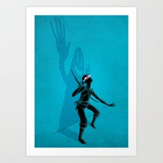 HEY! I'm Here! Art Print