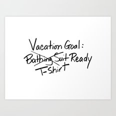 T-shirt Ready Art Print