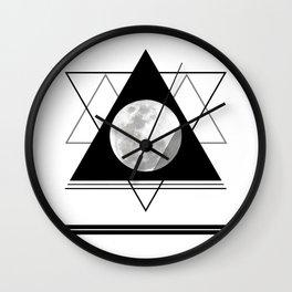 Uneven Geometry Wall Clock