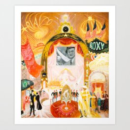 The Cathedrals of Broadway by Florine Stettheimer, 1929 Art Print