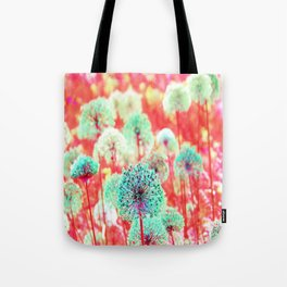 Flowers of Fantasy Tote Bag